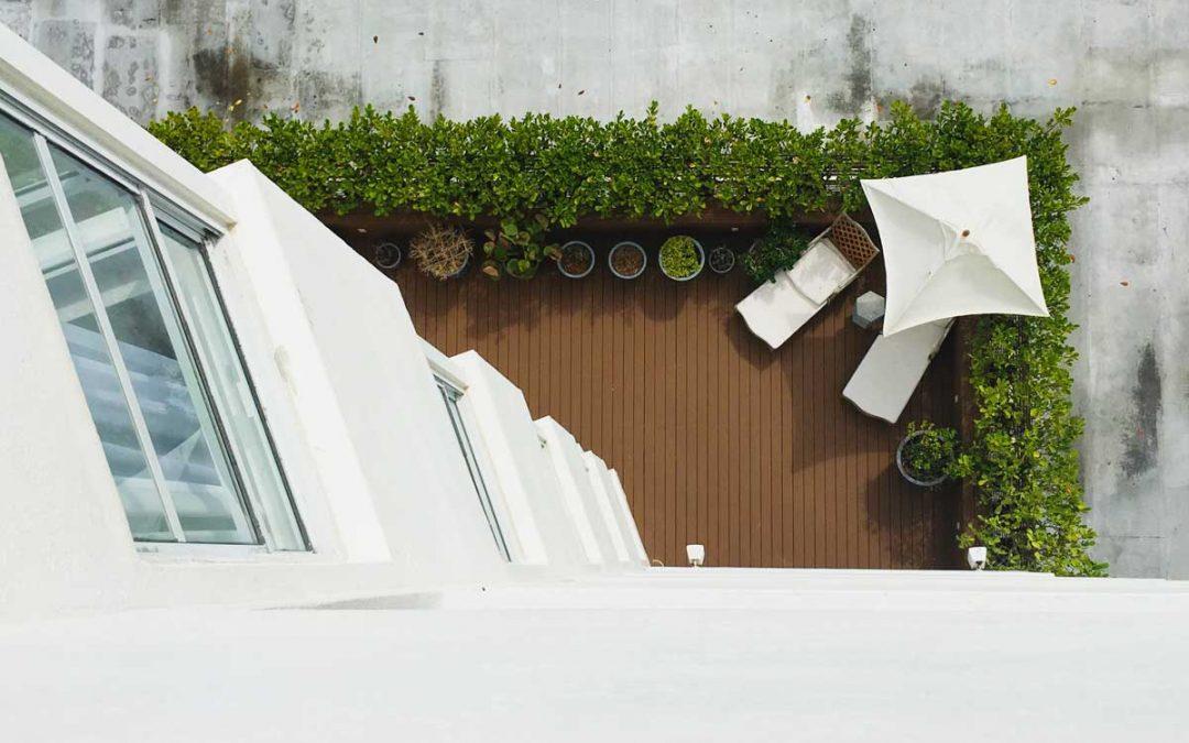 Progettare i terrazzi mentre il mondo è chiuso